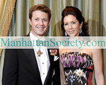 NEW YORK-MARCH 27: Their Royal Highnesses Crown Prince Frederik and Crown Princess Mary of Denmark attend The American-Scandinavian Foundation's Annual Gala on Friday, March 27, 2009 at The Pierre Hotel, Fifth Avenue at 61st Street, New York City, NY (Photo Credit: Gregory Partanio/ManhattanSociety.com)