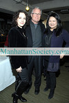 NEW YORK-JANUARY 22:   Bebe Neuwirth, Chris Calkin, Susan Shin attend The Chamber Dance Project Annual Benefit Performance and Party  honoring Board Members Susan Shin and Harsha Murthy  at Baryshnikov Arts Center, 450 West 37th Street @ 9th Avenue, New York City, NY on  Thursday, January 22, 2009 (Photo Credit: Christopher London/ManhattanSociety.com)