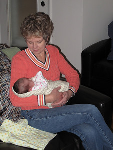 Gralyn and Grandma Kapp