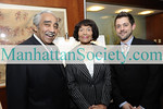 NEW YORK-NOVEMBER 9:  New York Congressman Charles B. Rangel, Alma Rangel, Vice-Chair, New York Foundation for Senior Citizens and Jason Bowman attend   FOUNTAIN GALLERY'S Eighth Annual Celebration of Life Benefit on Monday, November 9, 2009 at Citi Executive Conference Center, 601 Lexington Avenue, New York City, NY.  (Photo Credit: ©Manhattan Society.com 2009 by Gregory Partanio)