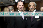 NEW YORK-NOVEMBER 9: Dario Gristina, NY Congressman Charles B. Rangel attend  FOUNTAIN GALLERY'S Eighth Annual Celebration of Life Benefit on Monday, November 9, 2009 at Citi Executive Conference Center, 601 Lexington Avenue, New York City, NY.  (Photo Credit: ©Manhattan Society.com 2009 by Gregory Partanio)
