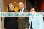 NEW YORK-NOVEMBER 22:Anna Eleanor Roosevelt, U.S. Senator Chuck Schumer,  Iris Weinshall attend The Hunter College Foundation's 2009 Bridge to Achievement Awards Gala on Sunday, November 22, 2009 at The Roosevelt House, 47-49 East 65th Street, Manhattan, New York City (PHOTO CREDIT:Copyright ©Manhattan Society.com 2009 by Gregory Partanio)