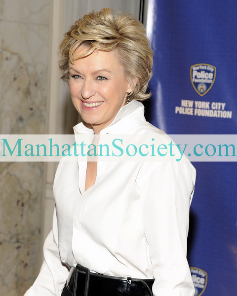 NEW YORK-MARCH 3: Tina Brown attends The New York City Police Foundation's 31st Annual Gala Honoring New York City Mayor Mike Bloomberg at the Waldorf Astoria, 301 Park Avenue, New York, NY on Tuesday, March 3, 2009 (Photo Credit: Gregory Partanio/ManhattanSociety.com)