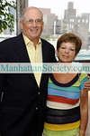 """NEW YORK-AUGUST 12:Mort Kurzrok, Gloria Kurzrok attend The Shari Kurzrok Second Chance for Life Foundation 2nd Annual Benefit and Silent Auction--""""Sip, Support & Spread the Word"""" About the Need for Organ Donation on Wednesday, August 12, 2009 at Manhattan Penthouse, 80 Fifth Avenue at 14th Street, New York City, NY  (Photo Credit: ©ManhattanSociety.com by Gregory Partanio)"""
