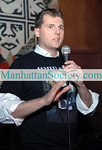 NEW YORK-JANUARY 28: DJAKE addresses guests at The Touch Foundation Young Leaders Frosty Fete at BLVD,199 Bowery at Spring Street, New York City, NY on  Wednesday, January 28, 2009 (Photo Credit: Christopher London/ManhattanSociety.com)