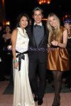 NEW YORK-MARCH 27: Adelina Wong Ettelson, Luigi Tadini, Alexandra Lind Rose attend The Young Friends of SAVE VENICE Primavera a Venezia: A Masked Venetian Ball at Bowery Terrace at The Bowery Hotel, 335 Bowery, New York City, NY on Friday, March 27, 2009 (Photo Credit: Christopher London/ManhattanSociety.com)