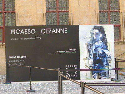 Picasso and Cezanne Exhibit, Musee Granet- Mibs Mara