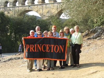 Group at the Pont du Gard - Mibs Mara