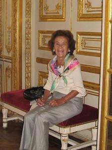 Sally at Versailles - Mibs Mara