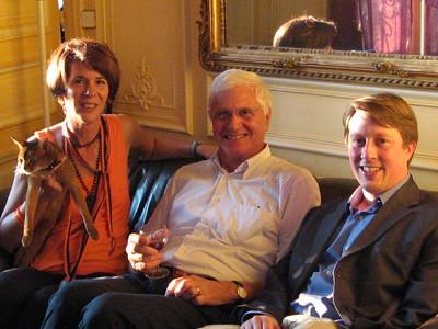 Members of the Princeton Alumni Association in Paris - Mibs Mara