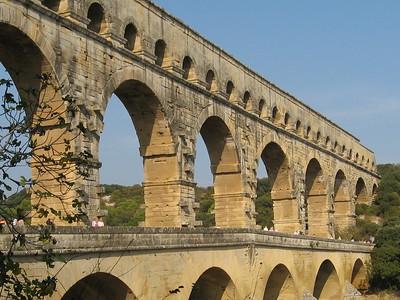 Jefferson Visited the Pont du Gard - Mibs Mara