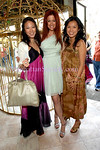 NEW YORK-APRIL 18:  Ellen Chang, Designer Tiffany Koury, Amy Lui attend Tiffany Koury Birthday Brunch at Sweetiepie Restaurant, 19 Greenwich Avenue, New York City on Saturday, April 18, 2009 (Photo Credit: ©Christopher London/ManhattanSociety.com)