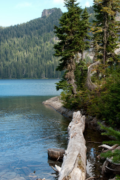 This is an absolutely beautiful lake at the beginning of the hike.  I'd be there all the time except for the 20 mile washboard dirt road between there and the world.