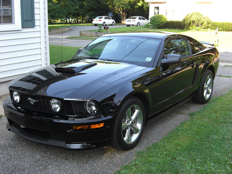 Tommy's New Mustang