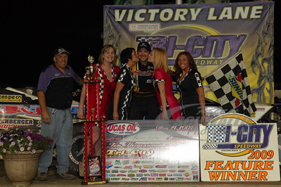 Brian Birkhofer in Victory Lane