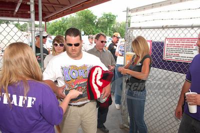 Fans enter the gates @ Tri-City Speedway - Granite City, IL