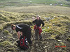 Á leiðinni upp á Grímannsfell  26. maí 2009<br /> <br /> Sigrún og Eva Íris