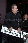 NEW YORK-FEBRUARY 22: Dr. Richard Garvey on keyboards at VALSECRETS.COM Web Trailer Debut hosted by Valeria Tignini and friends at Boucarou Lounge 64 East 1st Street, New York City, NY on Saturday,  February 22, 2009 (Photo Credit: Christopher London/ManhattanSociety.com)