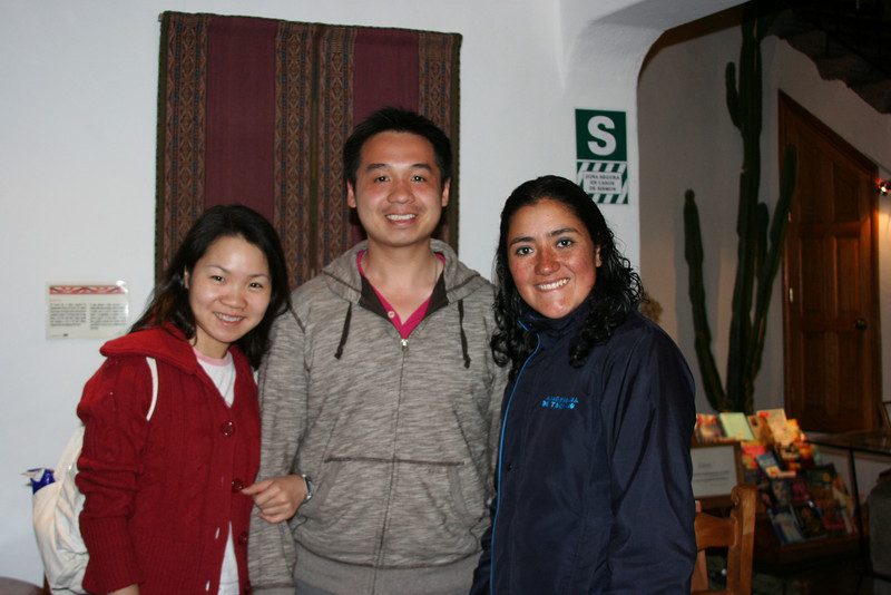 Our local guide at Cusco - Milli