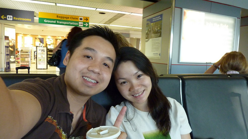 Begin our journey to celebrate our one-year anniversary =)
