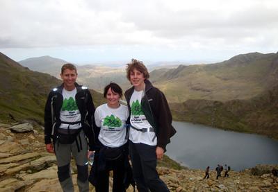 Mt Snowdon team