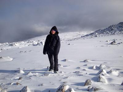 Ben Nevis snow Jules Farrer