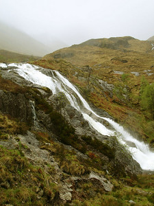 Glencoe waterfall by Jasmijn
