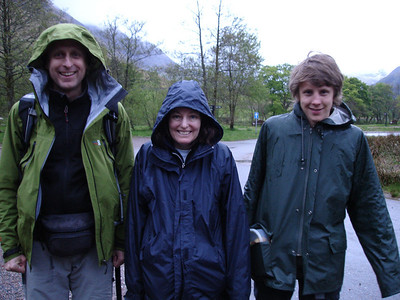 Summit 3, Ben Nevis, Scotland: We started in light rain at 05:38 Sunday 3rd May.