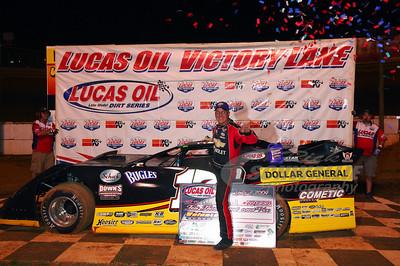 Dale McDowell in Victory Lane @ Volunteer Speedway