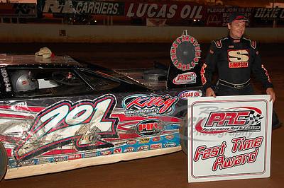Billy Ogle, Jr. won the PRC Fast Time Award