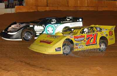 71 Don O'Neal and 0 Scott Bloomquist