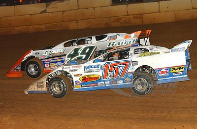157 Mike Marlar and 49 Jonathan Davenport