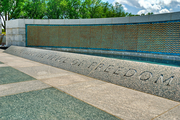 The WWII Memorial, HDR