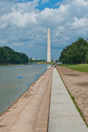 WWII memorial, taken from the Lincoln Memorial