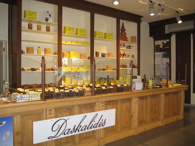 Belgian chocolate shop - Kaitlin Lutz