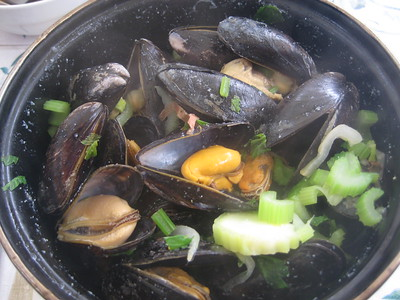 Mussels - Bruges specialty - Kaitlin Lutz