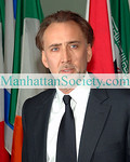 """NEW YORK-MAY12: Nicholas Cage attends  """"Welcome To Gulu"""" Exhibition Opening on Tuesday, May 12, 2009 at the United Nations, New York, NY  (Photo Credit: ©Christopher London/ManhattanSociety.com)"""