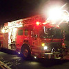 West Springfield's Engine 3, an '07 ALF Eagle 75 ft. Quint