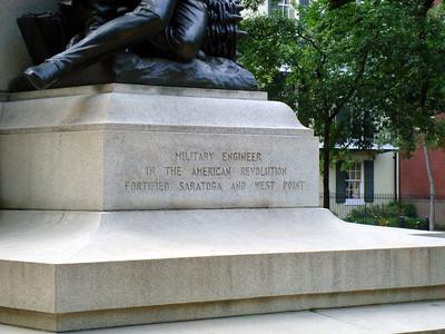 Thaddeusz Kosciusxko Memorial in Lafayette Park