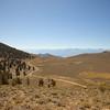 Across barren slopes