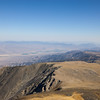 Eastward view of Nevada from just below the summit of White Mountain Peak