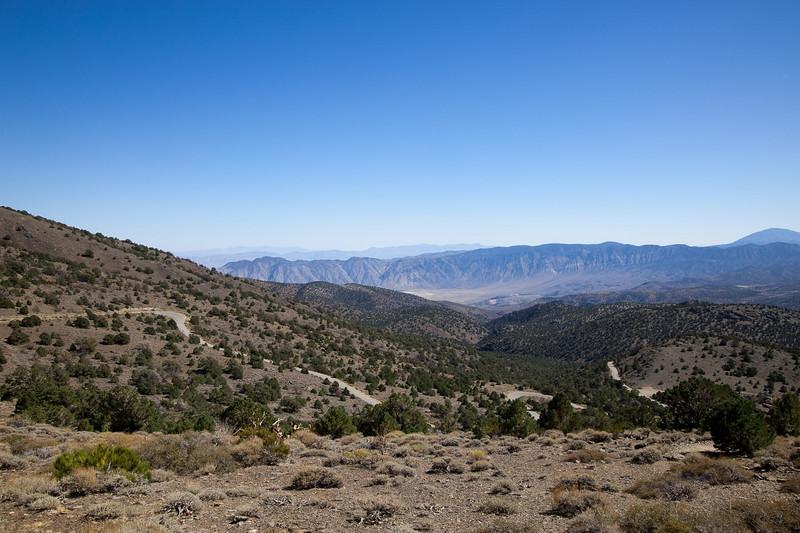 Mountains south of White Mountain's main ridge