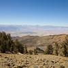 Looking west at the Sierra