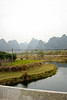 After arriving in Guilin and spending a night in a hostel there, we traveled by bus to Yangshuo, an area populated by incredible Karst towers dotting the landscape from horizon to horizon.