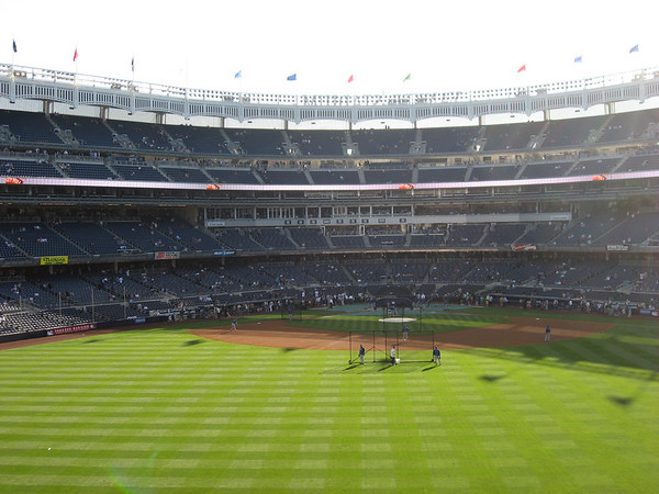 More views of Yankee Stadium, looking at home