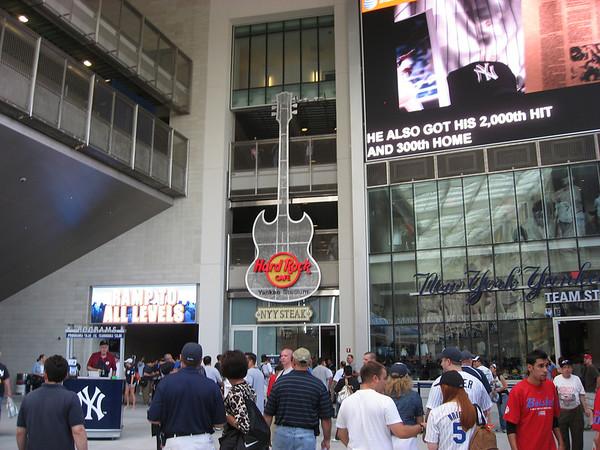 The Hard Rock, at Yankee Stadium