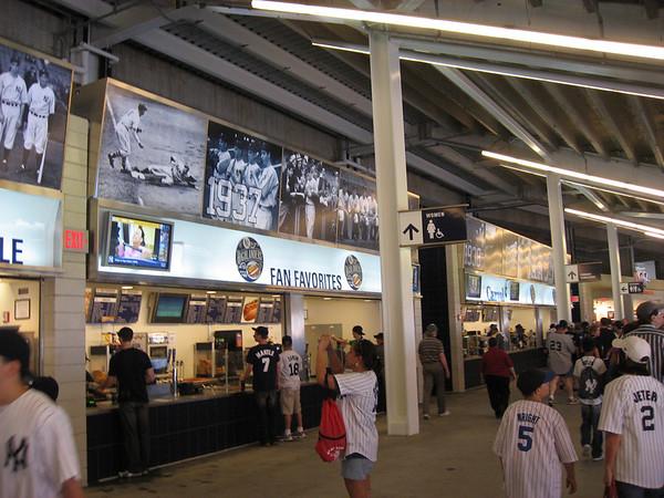 Food at Yankee Stadium