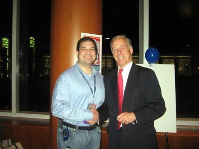 Craig with Gov. Howard Dean