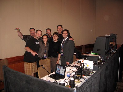 The production crew