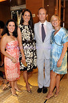 NEW YORK-JUNE 24: Blair Métrailler (YNY Chair), Laura Zukerman, Mark Gilbertson,  Courtney Blaisdell attend  New Yorkers for the Philharmonic Summer Party on Wednesday, June 24, 2009 at Burberry, 9 East 57th Street, New York City, NY (Photo Credit: ManhattanSociety.com by Christopher London)